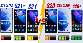 Время работы Galaxy S21 Ultra/S21Plus/S21 и сравнение с Galaxy S20 Ultra/S20 Plus/S20