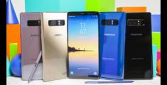 Samsung объяснила, почему Galaxy Note 8 получил меньшей емкости аккумулятор, чем предшественник