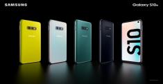 Семейство мегафлагманов 2019 года Samsung Galaxy S10 представили
