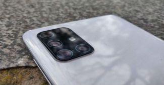 Samsung Galaxy A72: пентакамера прибыла