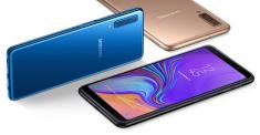 Новые подробности о характеристиках Samsung Galaxy A50