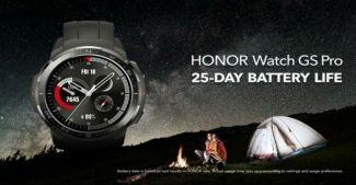 Представлены защищенные смарт-часы Honor Watch GS Pro