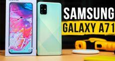 Видеообзор Samsung Galaxy A71: рабочий вариант, но переоцененный