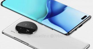 Посмотрите, как будет выглядеть Huawei Mate 40 Pro