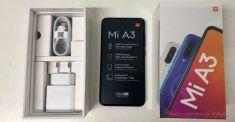Фото Xiaomi Mi A3 из коробки и характеристики новинки
