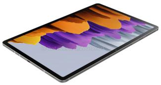 Флагман Samsung Galaxy Tab S8 показали на рендерах