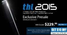 Цена THL 2015, с учетом купона, составит 230$