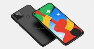 Google Pixel 5 предстал на «живых» снимках
