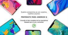 Официально: список смартфонов Huawei и Honor, которые обновят до Android Q