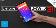 Ulefone Power 3 в предзаказе на Gearbest по цене $219,99 до 8 января