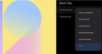 Как в iOS 14 и Android 11 в MIUI 12 предложат функцию Back Tap