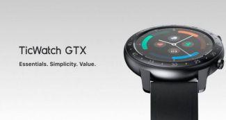 Анонсированы Mobvoi TicWatch GTX: недорогие смарт-часы с автономностью до 10 дней