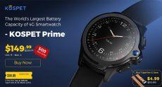 Kospet Prime — смарт-часы с автономностью до 7 дней и Face Unlock со скидкой на Gearbest