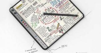 Так может выглядеть Huawei Mate X2