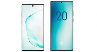 Посмотрите, как будет выглядеть Samsung Galaxy Note 20