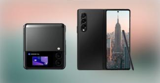 Почему подэкранной фронталки нет у Galaxy Z Flip 3 и характеристики камер складных Galaxy
